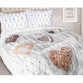 Povlečení Poetica 140x200 jednolůžko - standard bavlna