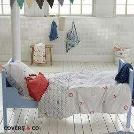 Povlečení Covers & Co Krabi 140x200 jednolůžko - standard bavlna