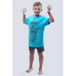 Chlapecké pyžamo Live Untamed tyrkysové  tyrkysová