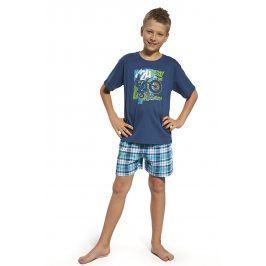 Chlapecké pyžamo Motocross  modrá