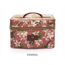 Kosmetický kufřík Essenza Tracy Verano růžový kosmetická taštička bordó