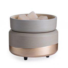Elektrická aromalampa a ohřívač svíček Midas Keramika béžová