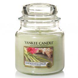 YC svíčka ve skle Lemongrass Ginger střední Parafín zelená