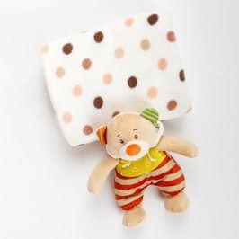 Dětský dárkový set Puntík 75 x 90 cm barevná