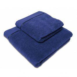 Ručník mikrobavlna námořnická modrá 70x140 cm Osuška