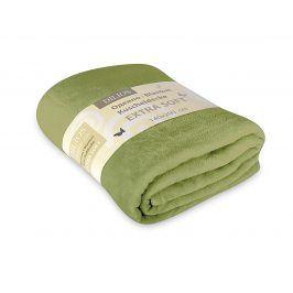 Deka Extra Soft zelená 140x200 cm zelená