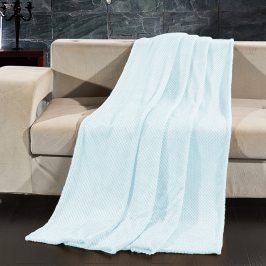 Deka Henry světle modrá 150x200 cm modrá