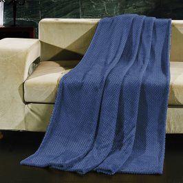 Deka Henry modrá 150x200 cm modrá