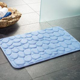 Koupelnová předložka London modrá 50x80 cm modrá