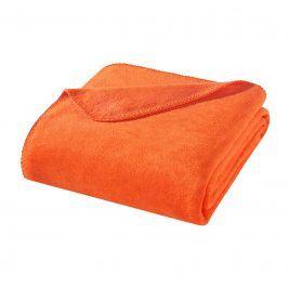 Deka Kirsten oranžová 150x200 cm oranžová