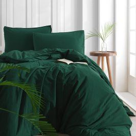Povlečení Stonewash zelené 220x200 dvojlůžko - standard bavlna
