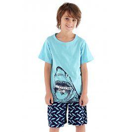 Chlapecké pyžamo Shark  modrá