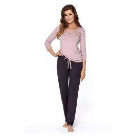 Dámské pyžamo Hortensia  růžovofialová