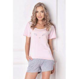 Dámské pyžamo Wild Look  růžová