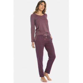 Dámské pyžamo Lovely winter  fialová