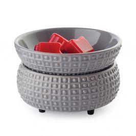 Elektrická aromalampa a ohřívač svíček Slate Keramika šedá