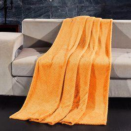 Deka Henry oranžová 150x200 cm oranžová