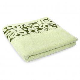 Ručník Fiore zelený 70x140 cm Osuška