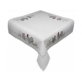 Ubrus Velikonoce 40x140 cm bílá