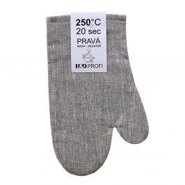Kuchyňské rukavice lněné - set 30x19 cm Len