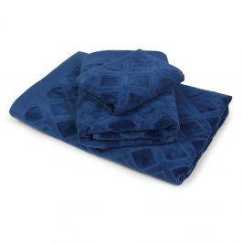 Velký ručník Charles modrý 50x90 cm Ručník velký