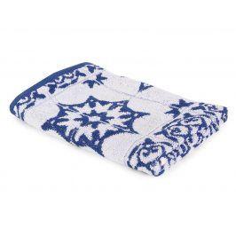 Kuchyňský ručník Mozaika modrý 50x50 cm modrá