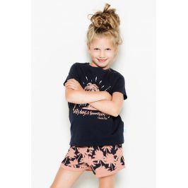 Dívčí pyžamo Palm Trees  vícebarevná