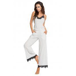 Dámské luxusní pyžamo Alice  bílá