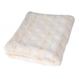 Dětská deka Milly srdíčka dětská deka bílá