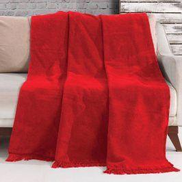 Deka Luxus červená 150x200 cm červená