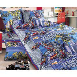 Povlečení Transformers 140x200 jednolůžko - standard bavlna