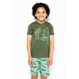 Chlapecké pyžamo Wave  vícebarevná