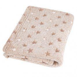 Dětská deka Milly Star béžová dětská deka béžová