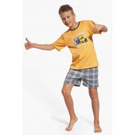Chlapecké pyžamo On the way  žlutá