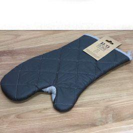 Kuchyňská rukavice s teflonovou úpravou 36 x 20 cm černá
