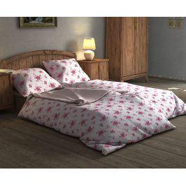 Povlečení Tereza růžové 140x200 jednolůžko - standard Bavlna