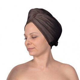 Turban na vlasy šedý doplňky šedá
