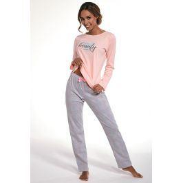 Dámské pyžamo Beauty  broskvová