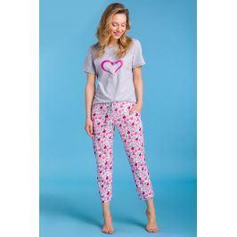 Dámské pyžamo Pippa  šedá
