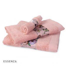 Ručník ESSENZA Fleur růžový 30x50 cm Ručník malý