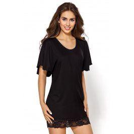 Elegantní košilka Nessy  černá