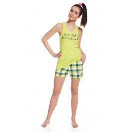 Dívčí pyžamo More Love  zelená