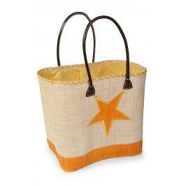 Velká plážová taška Estrella  hnědá