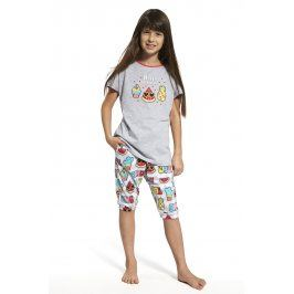 Dívčí pyžamo Hello summer  barevná