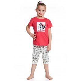 Dívčí pyžamko Let´s go for walk  růžová