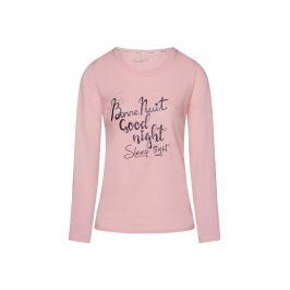 Dámské tričko na spaní Bonne Nuit  růžová