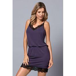 Dámská luxusní košilka Alina  fialová