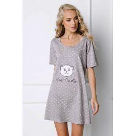 Dámská noční košilka Sweet Bear  šedá