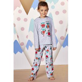 Chlapecké pyžamo Viking  béžová