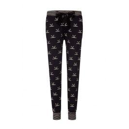 Dámské kalhoty na spaní Bulldogs  černá